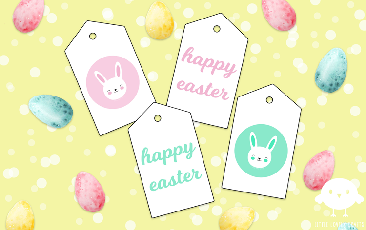Easter gift tags little lovely crafts negle Image collections